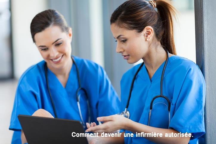 Comment devenir une infirmière autorisée