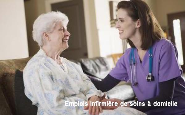 Comment avoir un emploi d'infirmière de soins à domicile