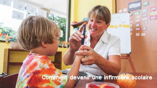 Comment devenir infirmière scolaire